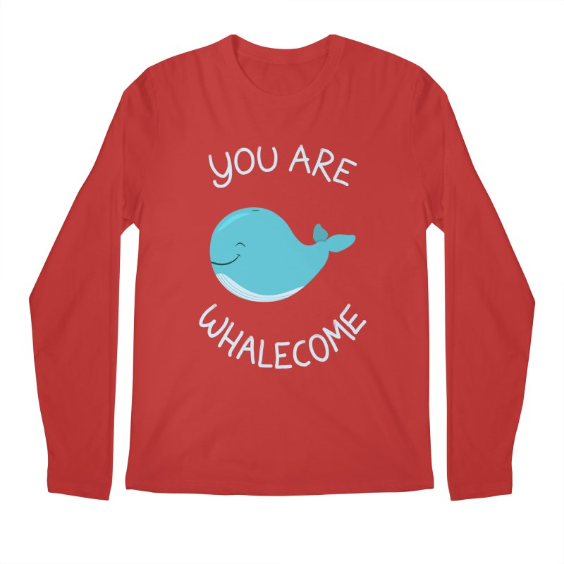 Whale, Thank You! Men's Regular Longsleeve T-Shirt by anishacreations's Artist Shop