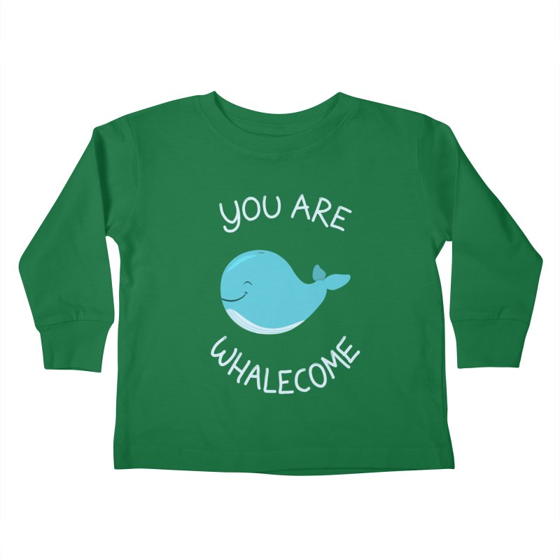Whale, Thank You! Kids Toddler Longsleeve T-Shirt by anishacreations's Artist Shop