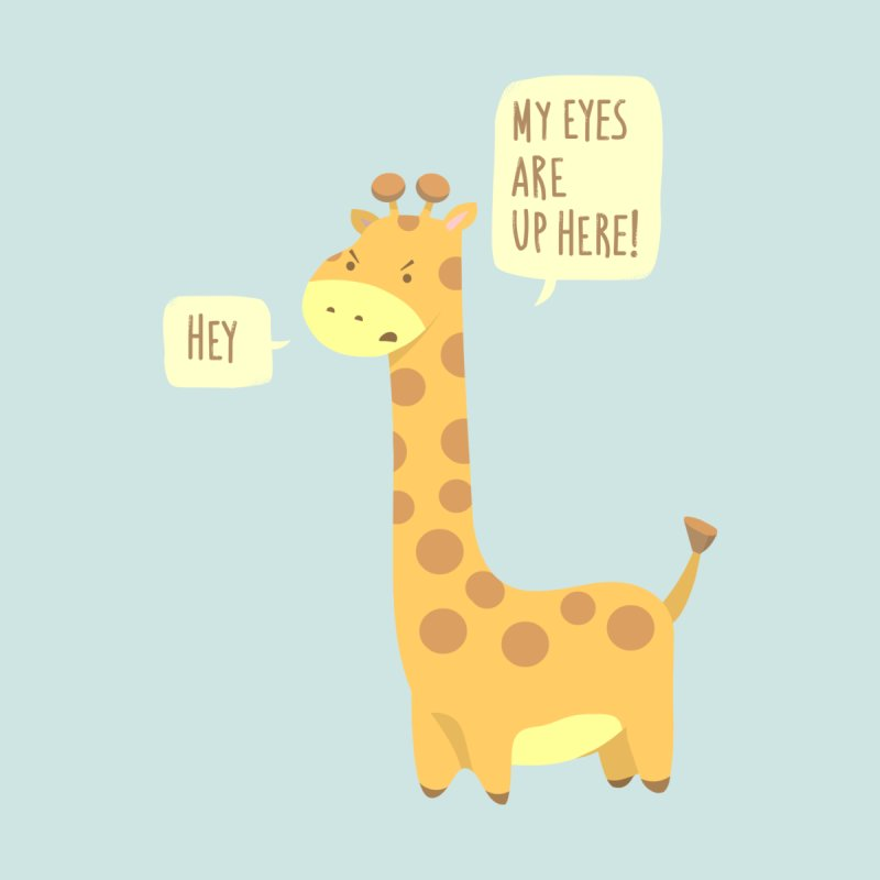 Giraffe Problems! None  by anishacreations's Artist Shop