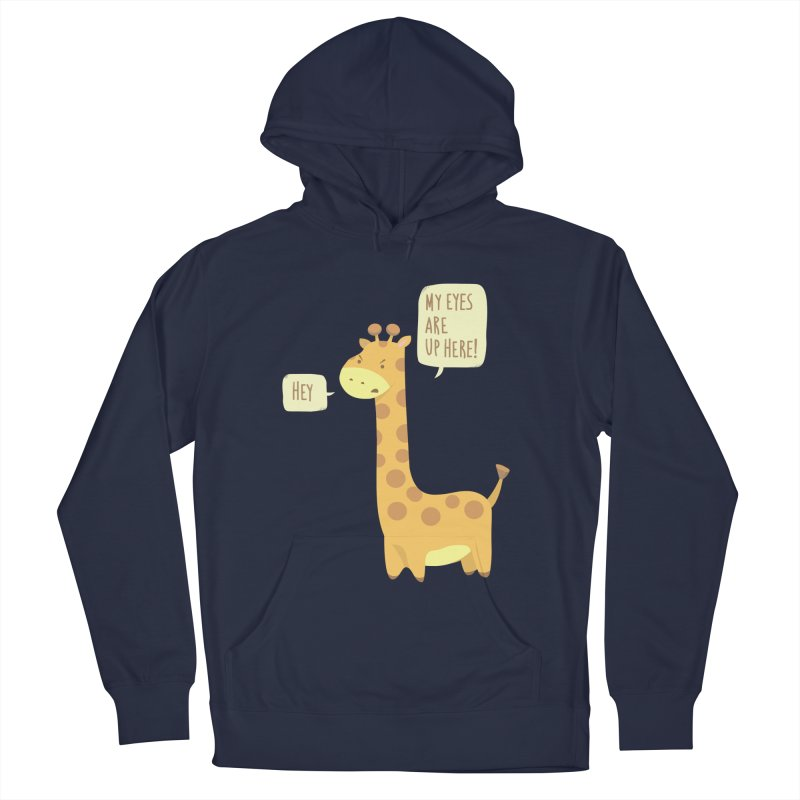 Giraffe Problems! Women's French Terry Pullover Hoody by anishacreations's Artist Shop