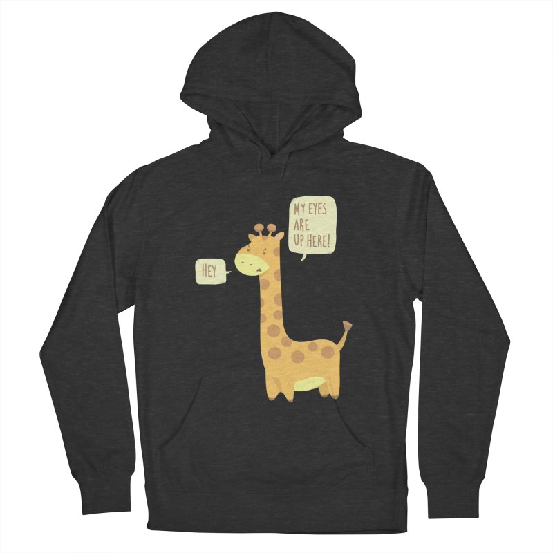 Giraffe Problems! Men's French Terry Pullover Hoody by anishacreations's Artist Shop