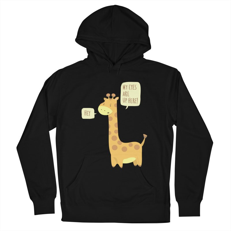 Giraffe Problems! Men's Pullover Hoody by anishacreations's Artist Shop