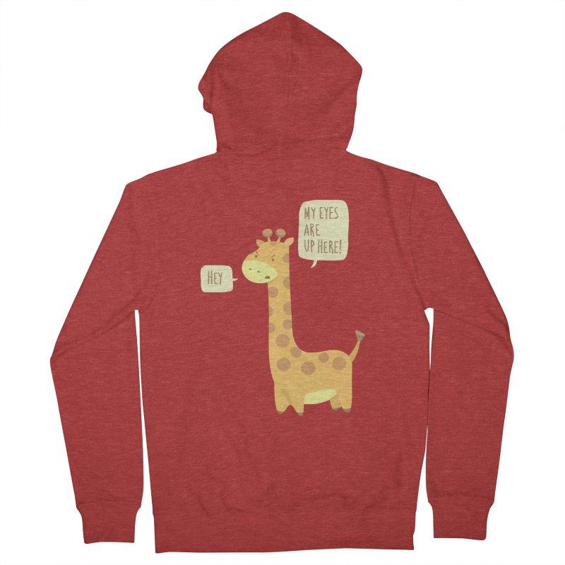 Giraffe Problems! Women's Zip-Up Hoody by anishacreations's Artist Shop