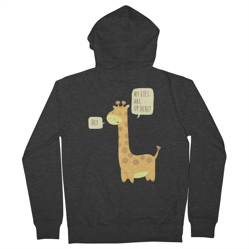 Giraffe Problems! Men's Zip-Up Hoody by anishacreations's Artist Shop