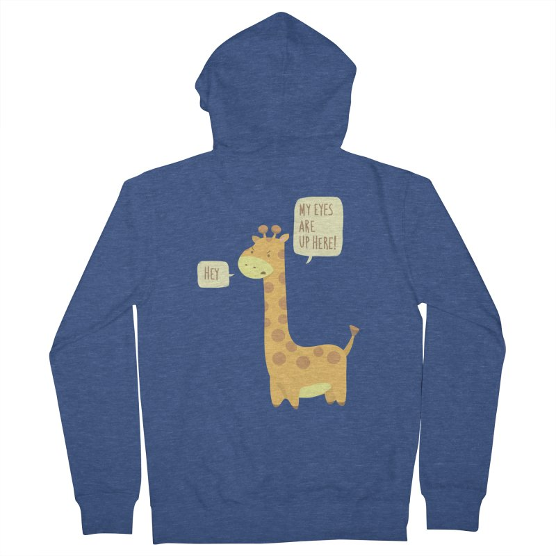 Giraffe Problems! Men's French Terry Zip-Up Hoody by anishacreations's Artist Shop