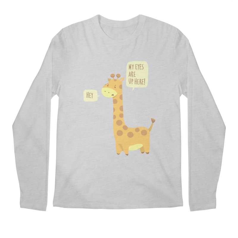 Giraffe Problems! Men's Longsleeve T-Shirt by anishacreations's Artist Shop