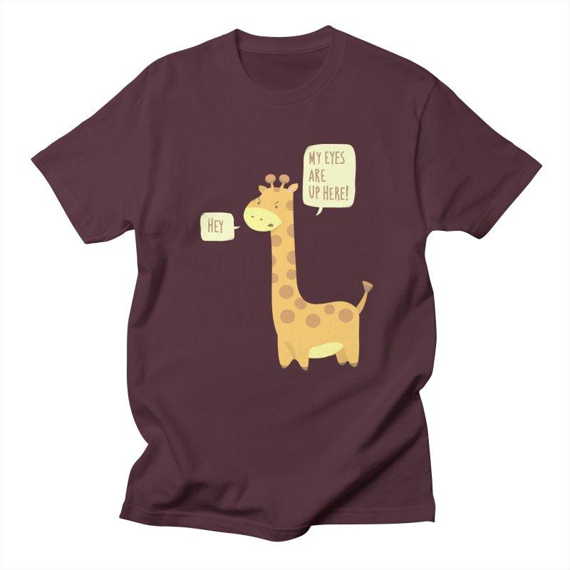 Giraffe Problems! Men's T-shirt by anishacreations's Artist Shop