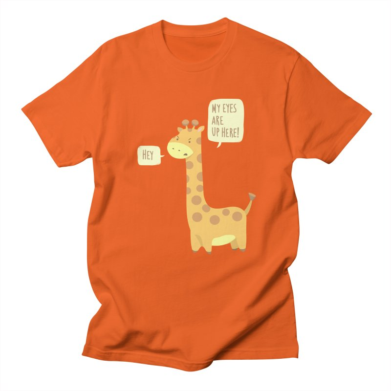 Giraffe Problems! Men's T-Shirt by anishacreations's Artist Shop
