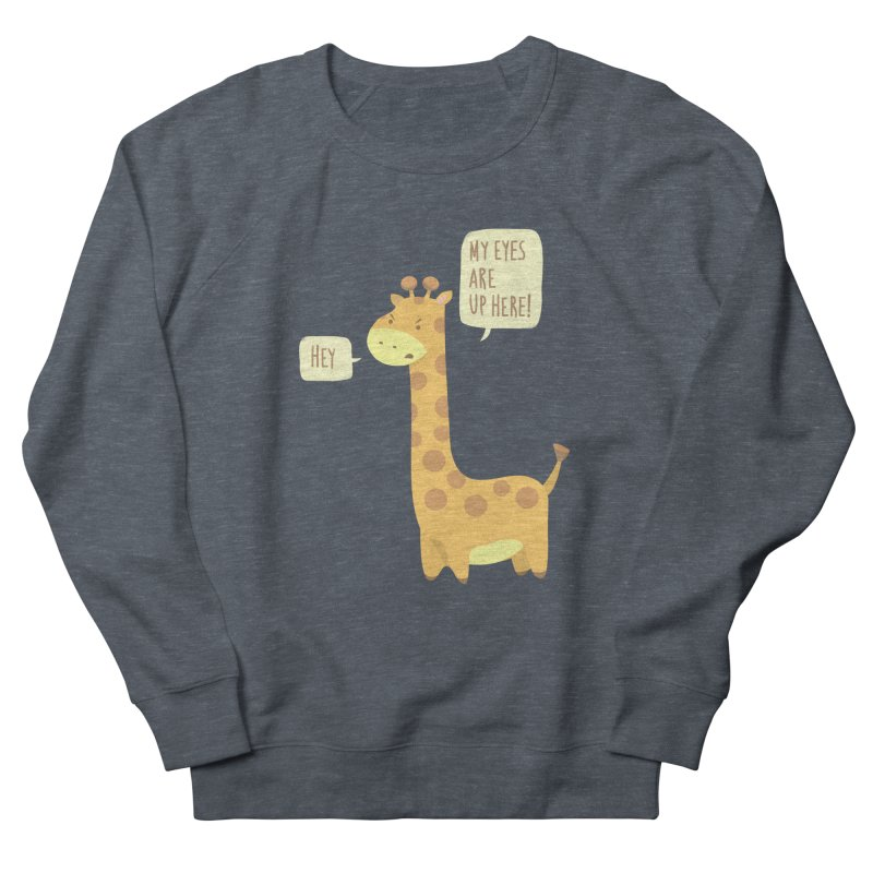 Giraffe Problems! Women's French Terry Sweatshirt by anishacreations's Artist Shop