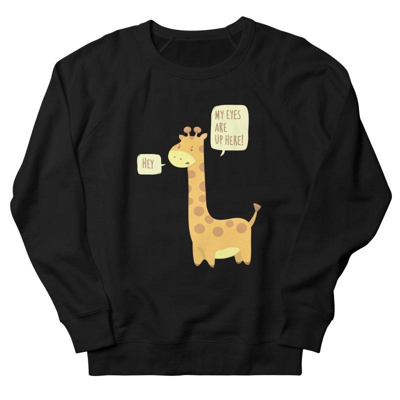 Giraffe Problems! Men's Sweatshirt by anishacreations's Artist Shop