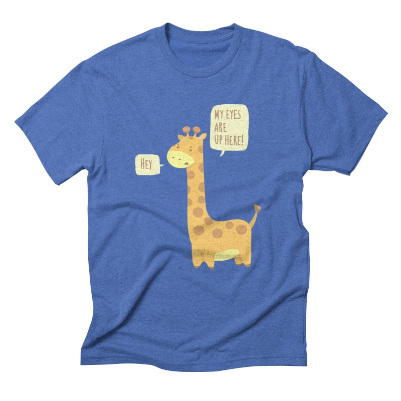 Giraffe Problems! Men's Triblend T-Shirt by anishacreations's Artist Shop
