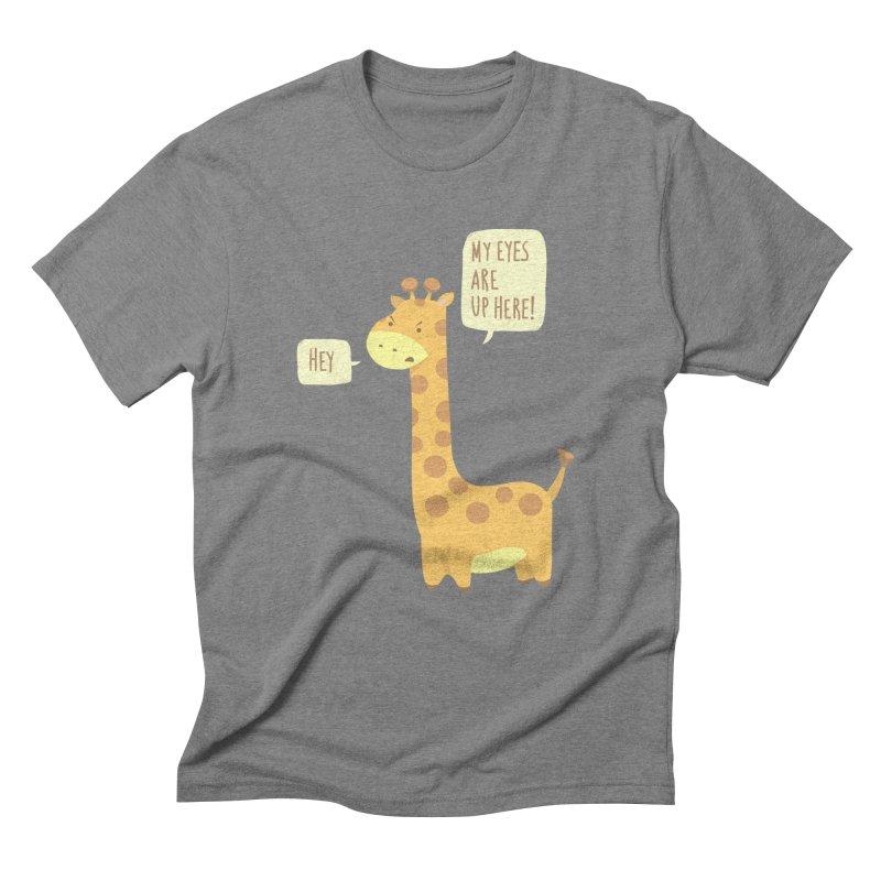 Giraffe Problems! Men's Triblend T-Shirt by anishacreations's Artist Shop