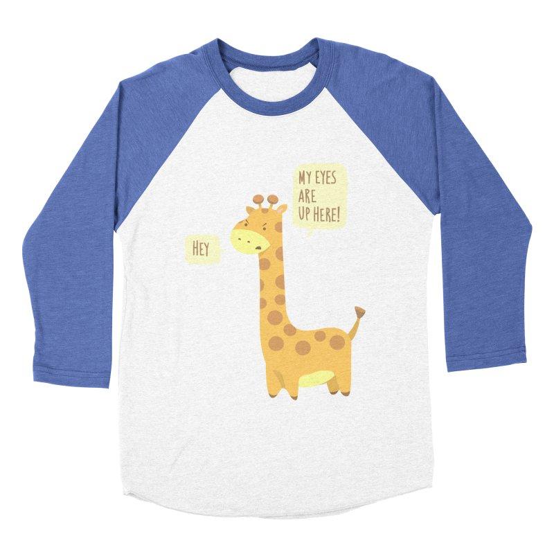 Giraffe Problems! Women's Baseball Triblend Longsleeve T-Shirt by anishacreations's Artist Shop