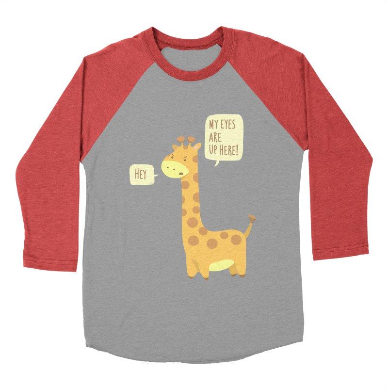 Giraffe Problems! Women's Baseball Triblend T-Shirt by anishacreations's Artist Shop