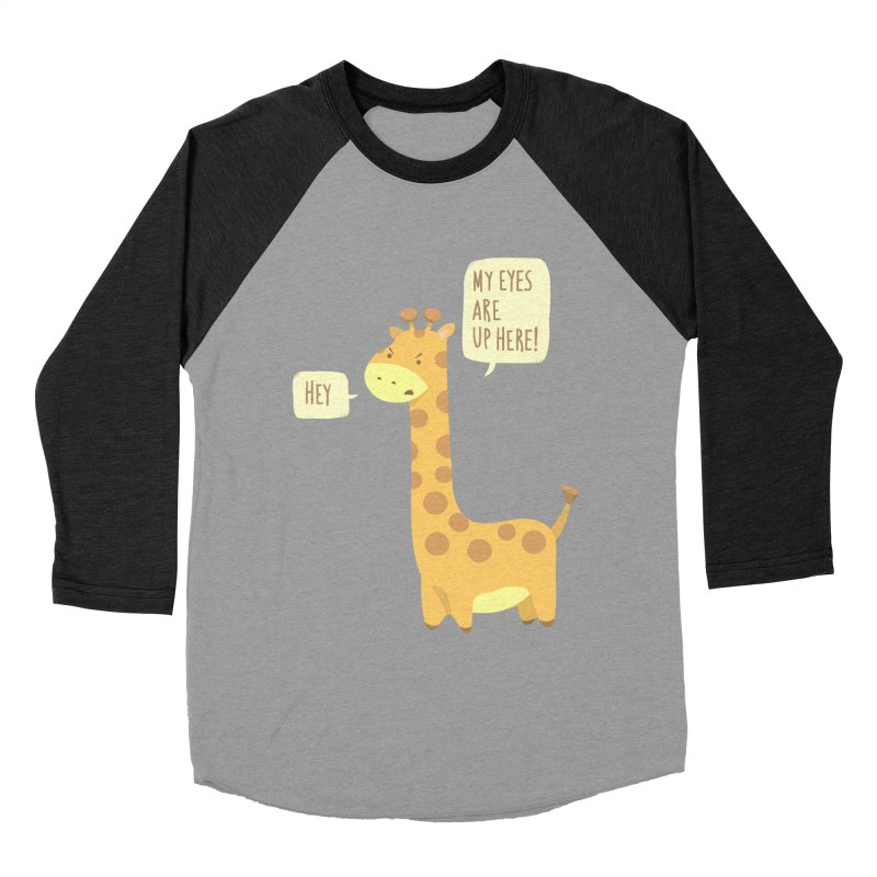 Giraffe Problems! Women's Baseball Triblend T-Shirt by anishacreations's Artist Shop