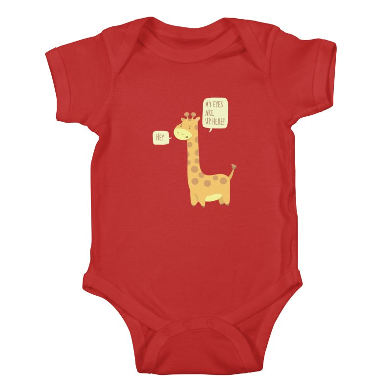 Giraffe Problems! Kids Baby Bodysuit by anishacreations's Artist Shop