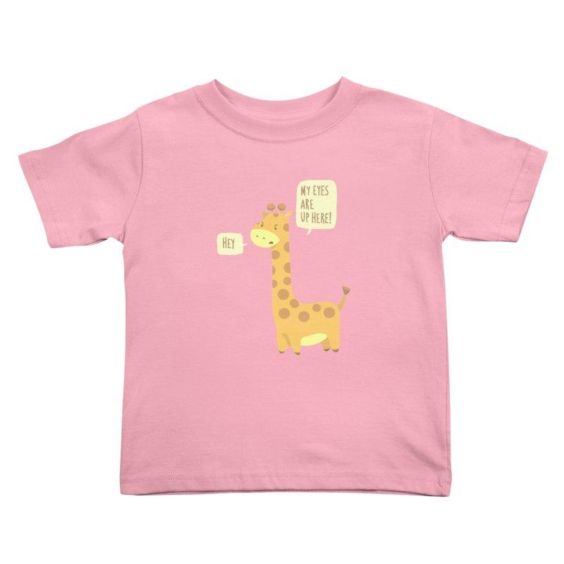 Giraffe Problems! Kids Toddler T-Shirt by anishacreations's Artist Shop