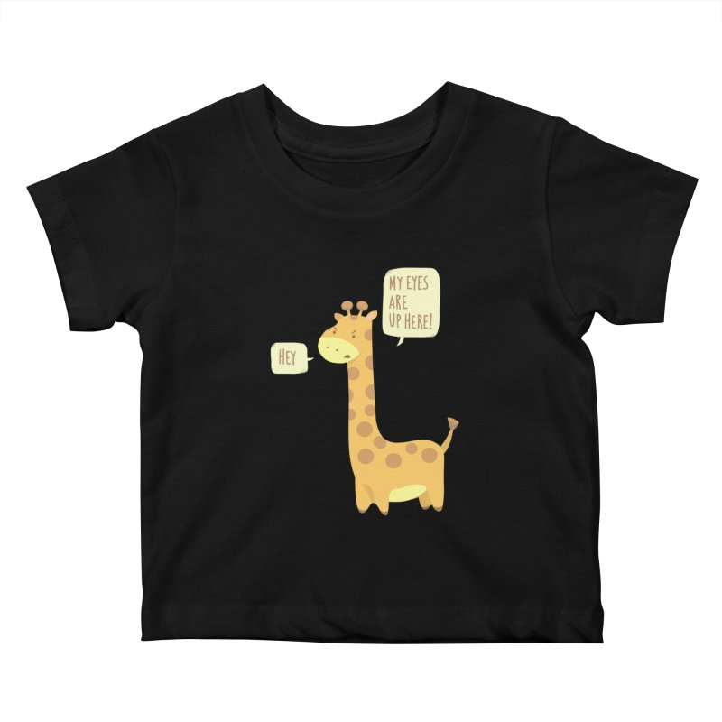 Giraffe Problems! Kids Baby T-Shirt by anishacreations's Artist Shop
