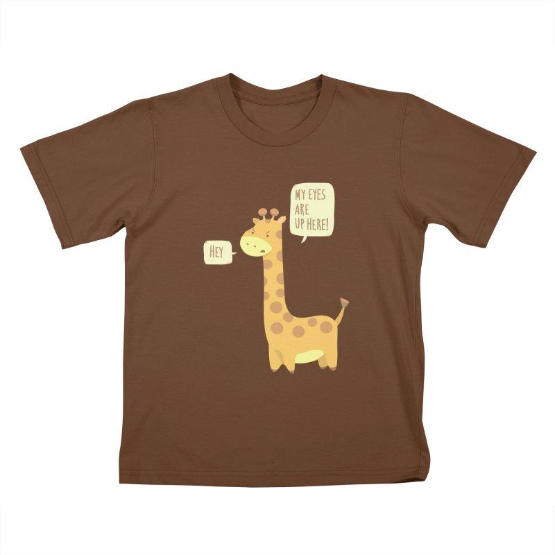 Giraffe Problems! Kids T-Shirt by anishacreations's Artist Shop