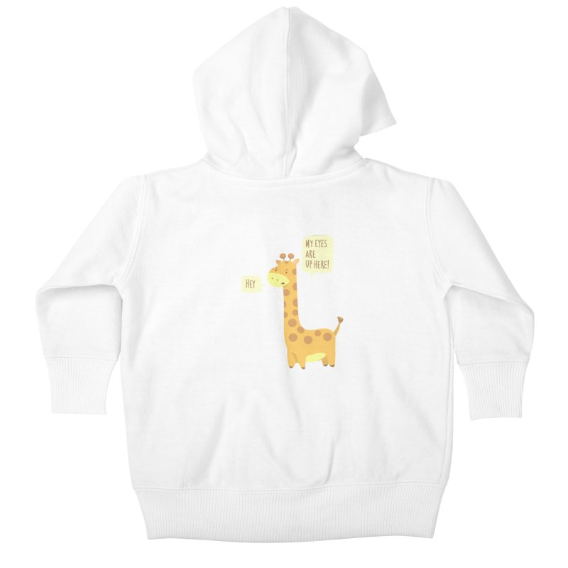 Giraffe Problems! Kids Baby Zip-Up Hoody by anishacreations's Artist Shop