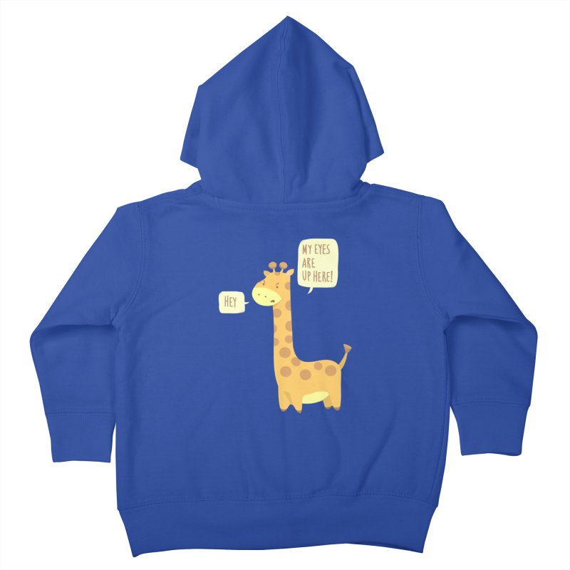 Giraffe Problems! Kids Toddler Zip-Up Hoody by anishacreations's Artist Shop