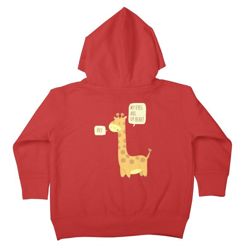 Giraffe Problems! Kids Toddler Zip-Up Hoody by anishacreations's Artist Shop