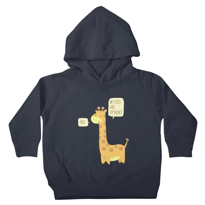 Giraffe Problems! Kids Toddler Pullover Hoody by anishacreations's Artist Shop