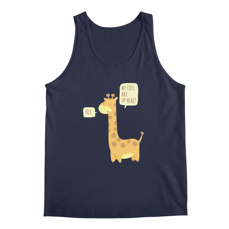 Giraffe Problems! Men's Tank by anishacreations's Artist Shop