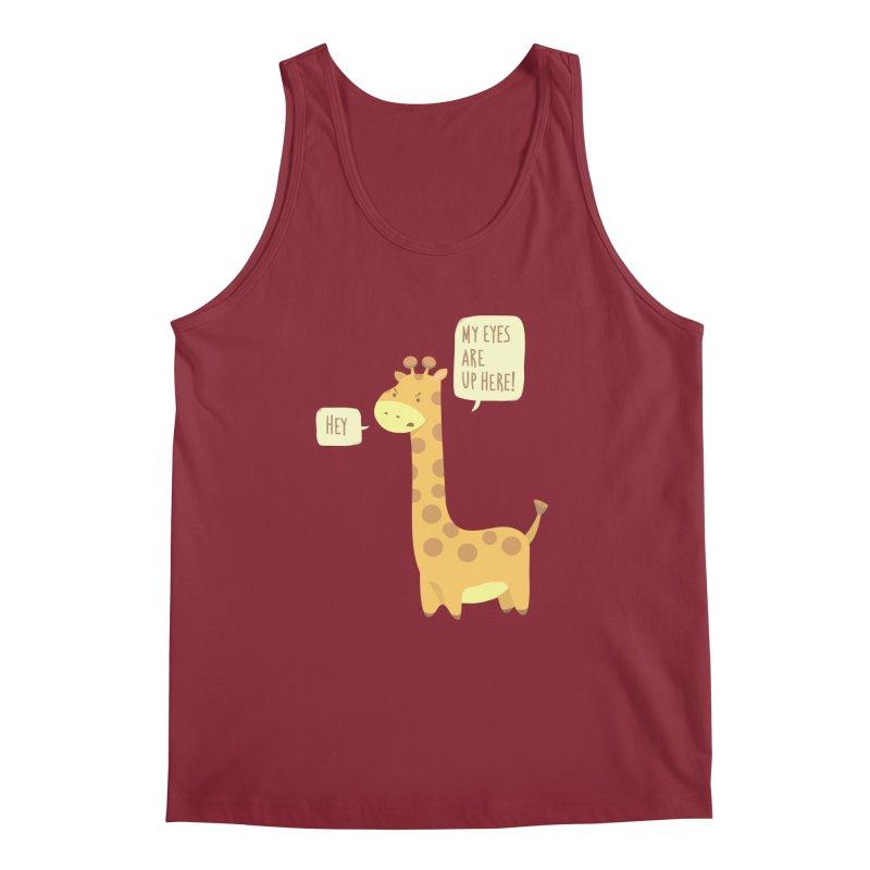 Giraffe Problems! Men's Tank by anishacreations's Artist Shop