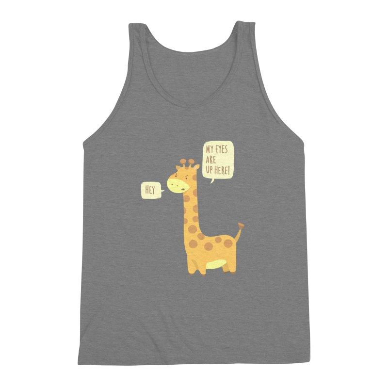 Giraffe Problems! Men's Triblend Tank by anishacreations's Artist Shop