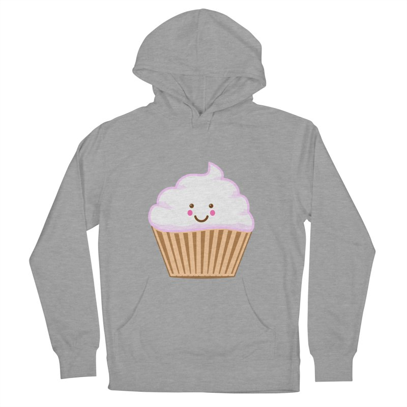 First, Cupcake! Women's French Terry Pullover Hoody by anishacreations's Artist Shop