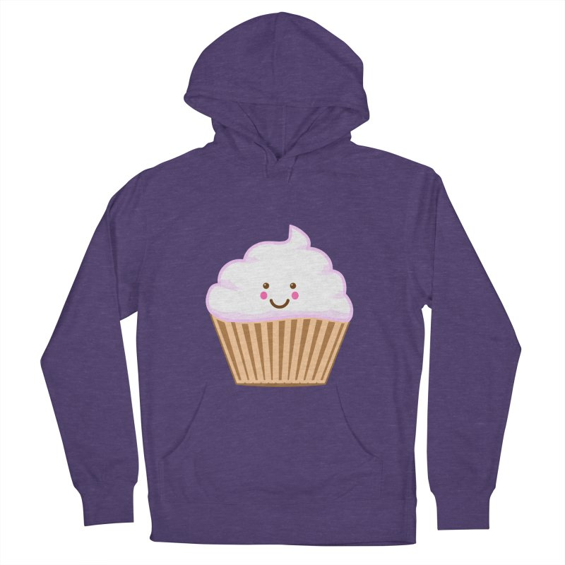 First, Cupcake! Men's French Terry Pullover Hoody by anishacreations's Artist Shop