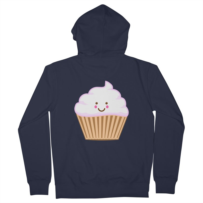 First, Cupcake! Men's Zip-Up Hoody by anishacreations's Artist Shop