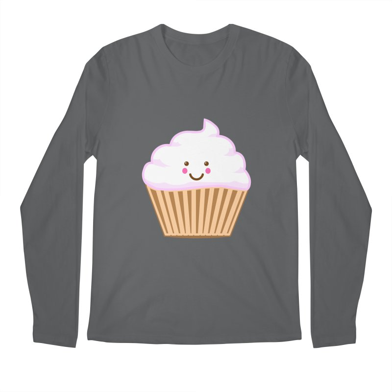 First, Cupcake! Men's Longsleeve T-Shirt by anishacreations's Artist Shop