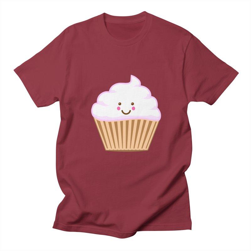 First, Cupcake! Men's Regular T-Shirt by anishacreations's Artist Shop