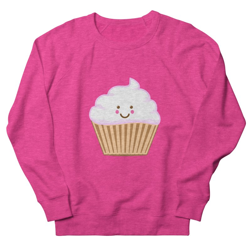 First, Cupcake! Men's French Terry Sweatshirt by anishacreations's Artist Shop