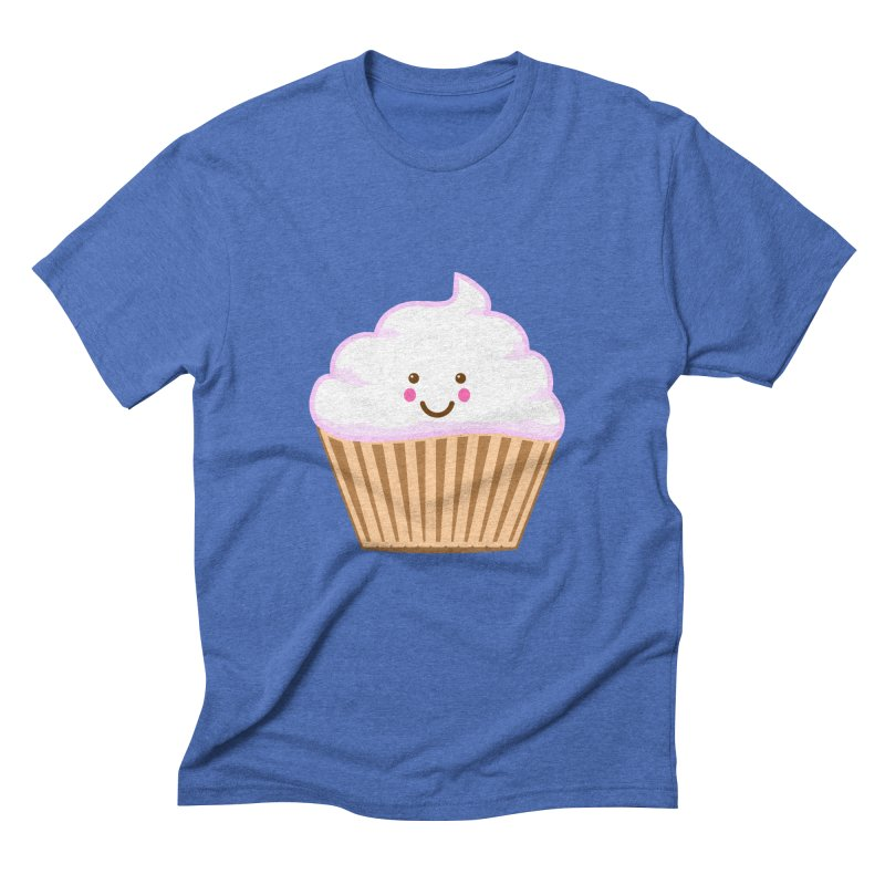 First, Cupcake! Men's Triblend T-Shirt by anishacreations's Artist Shop