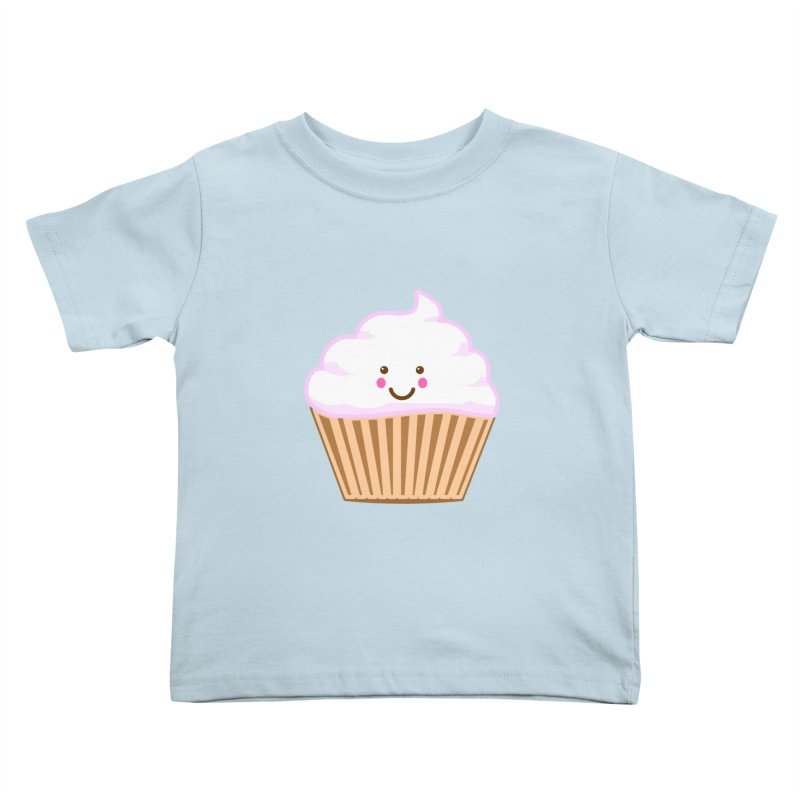 First, Cupcake! Kids Toddler T-Shirt by anishacreations's Artist Shop