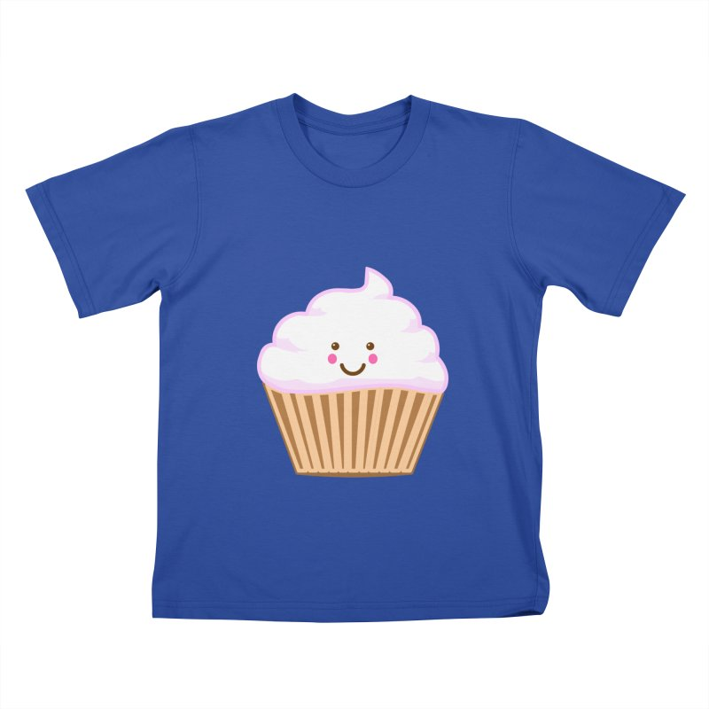 First, Cupcake! Kids T-shirt by anishacreations's Artist Shop