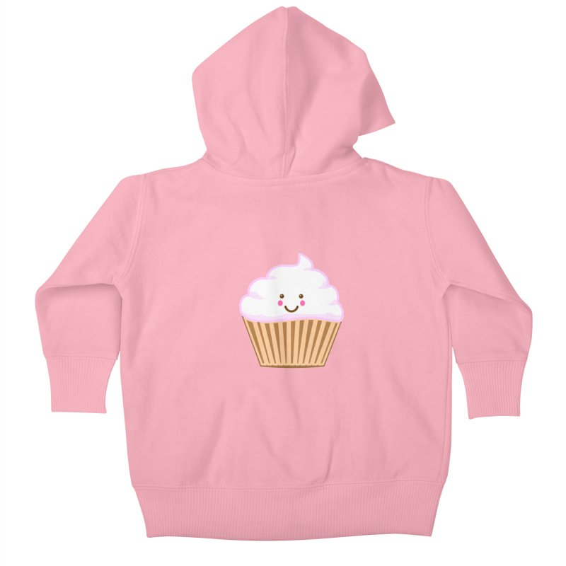 First, Cupcake! Kids Baby Zip-Up Hoody by anishacreations's Artist Shop
