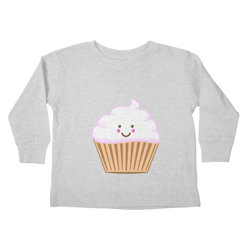 First, Cupcake! Kids Toddler Longsleeve T-Shirt by anishacreations's Artist Shop