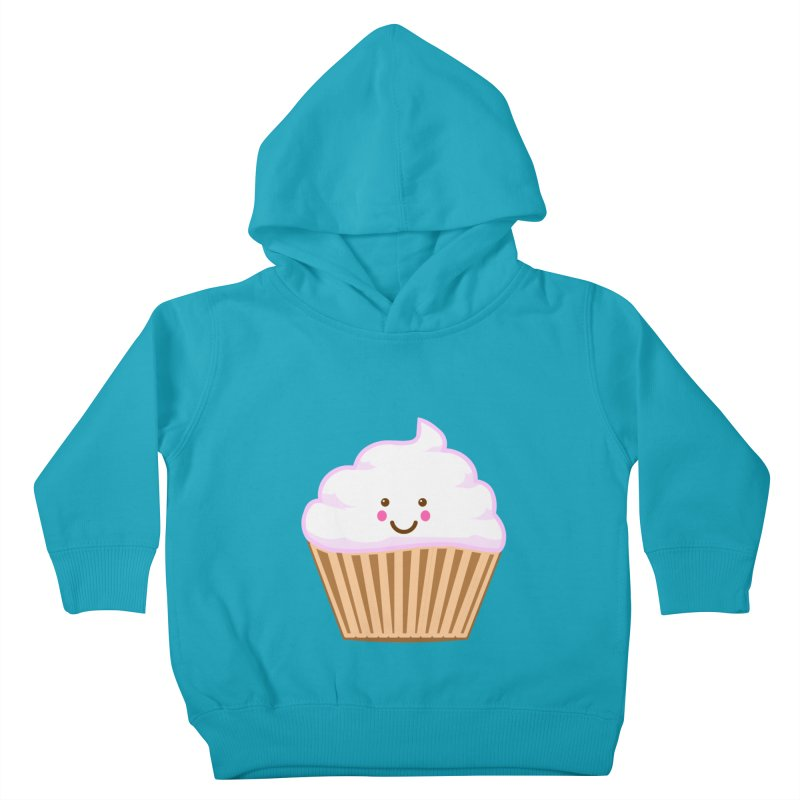 First, Cupcake! Kids Toddler Pullover Hoody by anishacreations's Artist Shop