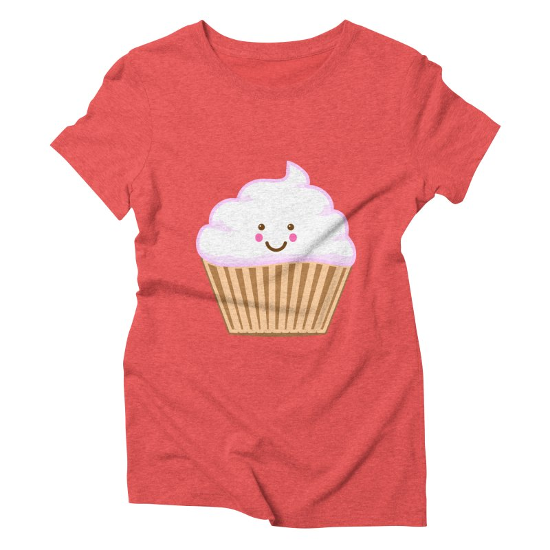 First, Cupcake! Women's Triblend T-shirt by anishacreations's Artist Shop