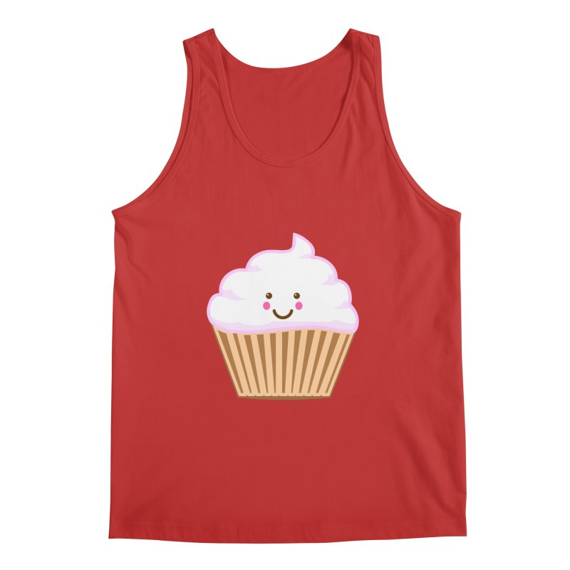 First, Cupcake! Men's Tank by anishacreations's Artist Shop