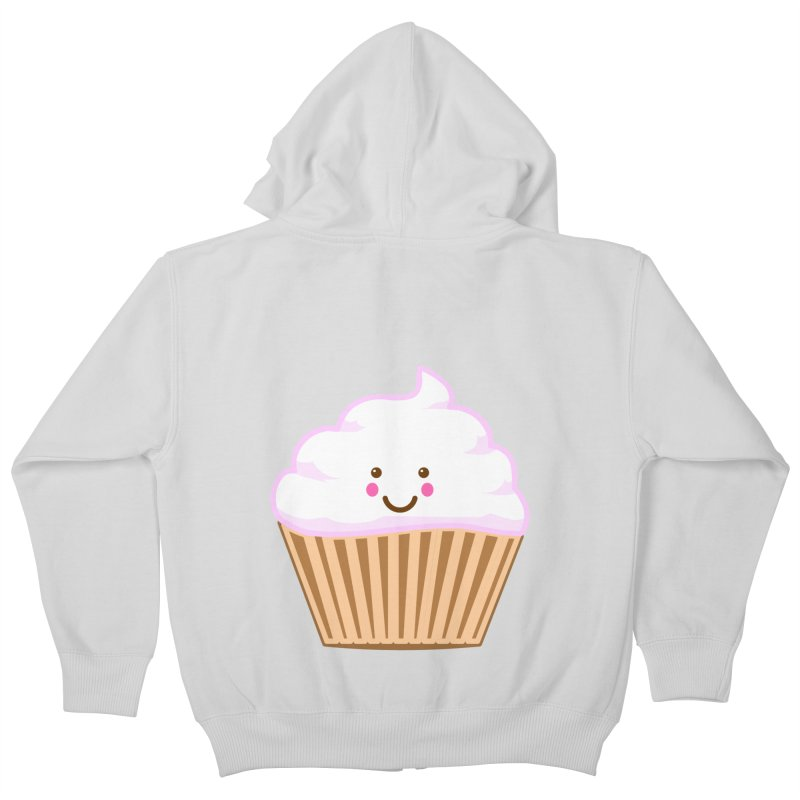First, Cupcake! Kids Zip-Up Hoody by anishacreations's Artist Shop