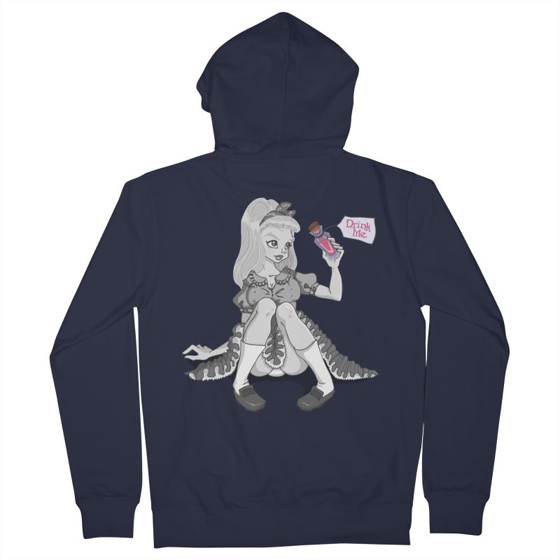 Alice Women's French Terry Zip-Up Hoody by anishacreations's Artist Shop