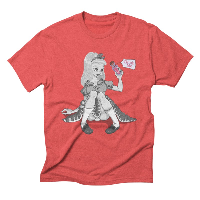 Alice Men's Triblend T-Shirt by anishacreations's Artist Shop