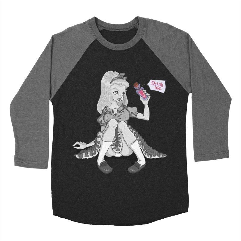 Alice Men's Baseball Triblend Longsleeve T-Shirt by anishacreations's Artist Shop
