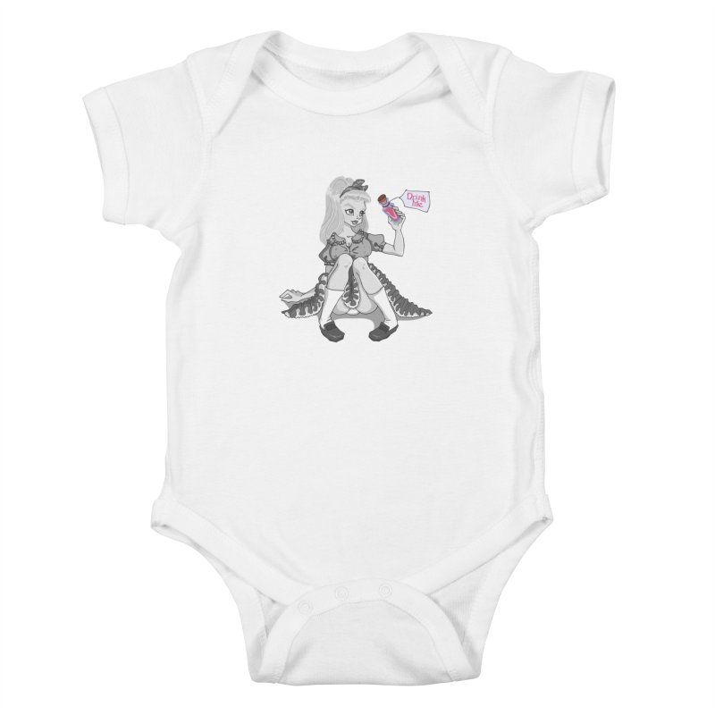 Alice Kids Baby Bodysuit by anishacreations's Artist Shop