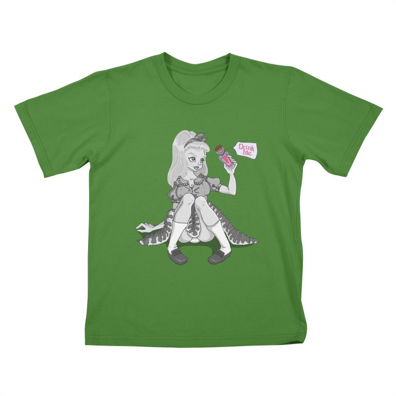 Alice Kids T-shirt by anishacreations's Artist Shop